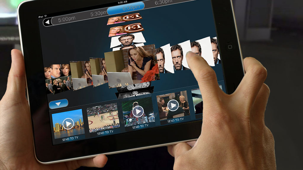 A novel prototype to replace the old TV Grid. This tablet application offers a more dense and visual representation of TV programs and allows other shows be monitored on the app.