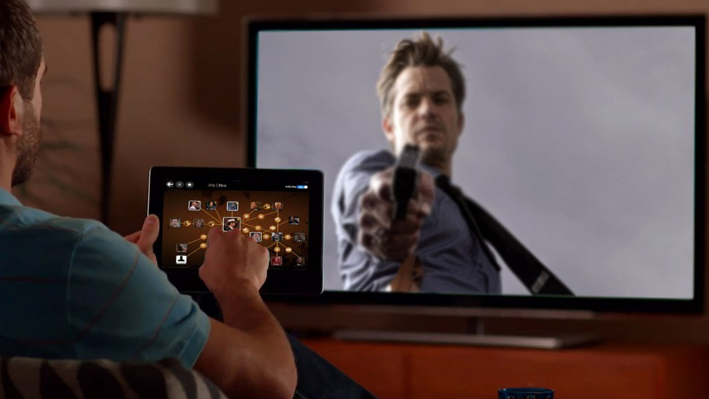 A second-screen companion app to support viewers in following a densely populated storyworld, with prototype based on the FX Series Justified.