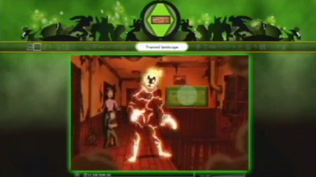 Episodes of Ben 10, a Cartoon Network series, are integrated with contextual quick time games that reinforce immersion for active viewer watching broadband programs on a game platform. Viewers capture game objects from the video stream, intensifying their attention to the program and their sense of the immediacy of the fictional world.